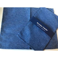 2 Placemats - Effen Dark Blue