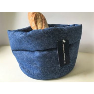 Brood Mand - Effen Dark Blue