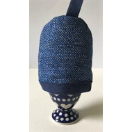 Eierwarmer - Effen Dark Blue