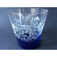 6x Water Glas - Summer Breeze Blue