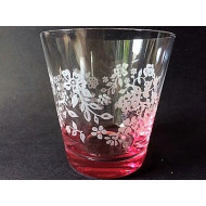 6x Water Glas - Summer Breeze Pink